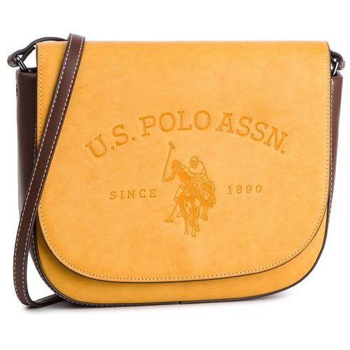 Torebka - cowtown flap crossb. bag beucw0563wvp/302 mustard marki U.s. polo assn.