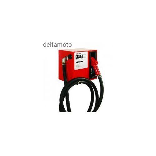 Zestaw do przepompowywania paliwa z mechanicznym miernikiem 230v, 56l/min marki Valkenpower