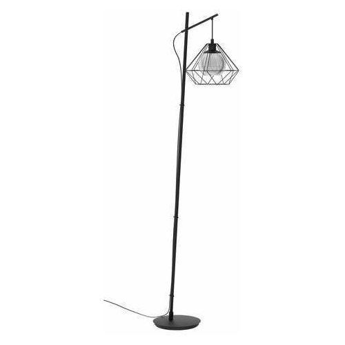 Eglo Vernham 43485 lampa stojąca podłogowa 1x40W E27 czarna (9002759434854)