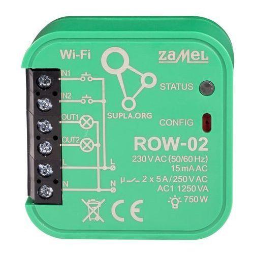 Sterownik wi-fi dwukanałowy typ: row-02 marki Zamel