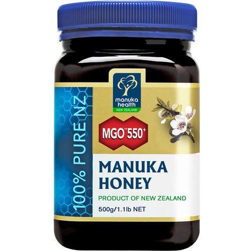 Manuka health new zealand limited Miód manuka mgo 550+ 500g (9421023620104)