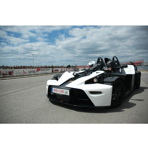 Jazda KTM X-Bow - Borsk ( k. Gdańska) \ 4 okrążenia