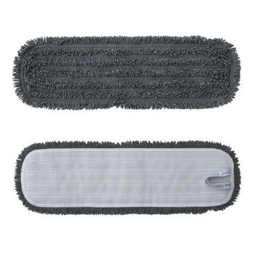 Mop rzepowy 47 cm z mikrofazy szary Standard Merida