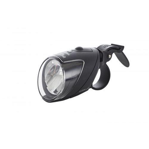 Busch + müller ixon iq speed premium lampka rowerowa przednia + bateria + ładowarka czarny lampki na baterie przednie