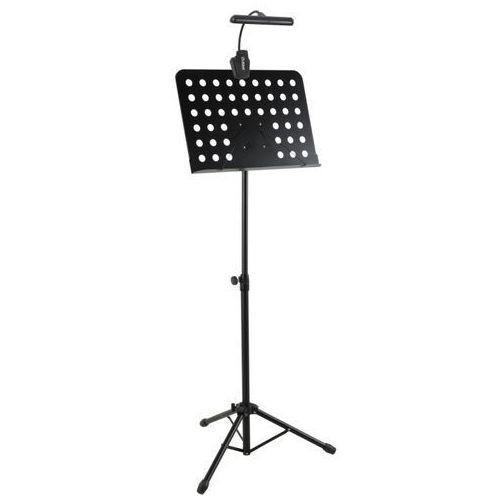 Mlight fl-9030 10led + dc900 - pulpit do nut + lampka diodowa orkiestrowa (baterie/zasilacz)