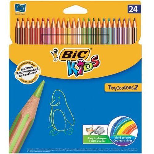 Bic Kredki ołówkowe tropicolors® 2, 24 kolory - super cena - autoryzowana dystrybucja - szybka dostawa - porady - wyceny - hurt