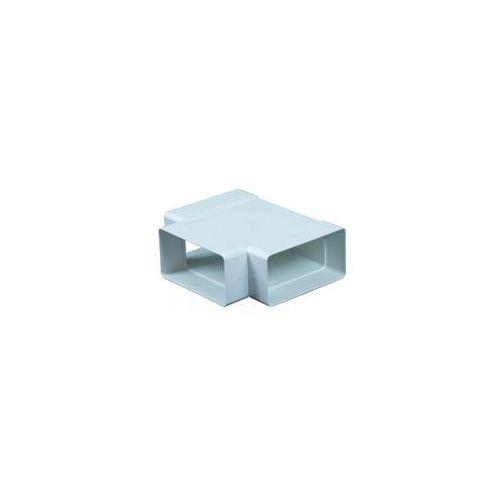 Trójnik kanału wentylacyjnego płaskiego POZIOMY PŁASKI 90° 55 / 110 mm EQUATION (5905033311688)