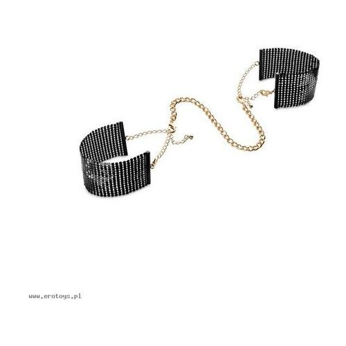 Bijoux Indiscrets - Désir Métallique Handcuffs (czarne), 0806800