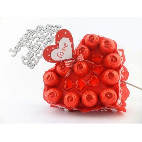 Słodkie serce JESTEŚ MOJĄ DEFINICJĄ SZCZĘŚCIA walentynki