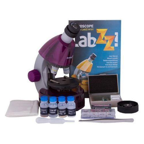 Levenhuk Mikroskop  labzz m101 amethyst\ametyst