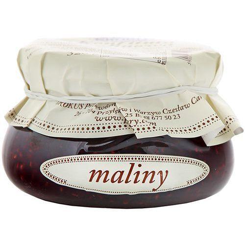 320g konfitura malinowa tradycyjna receptura   darmowa dostawa od 150 zł! marki Krokus
