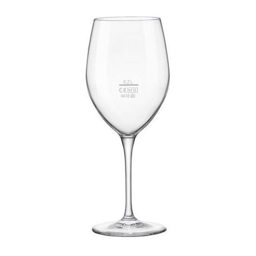 Bormioli rocco Kieliszek do wina 200 ml - z cechą