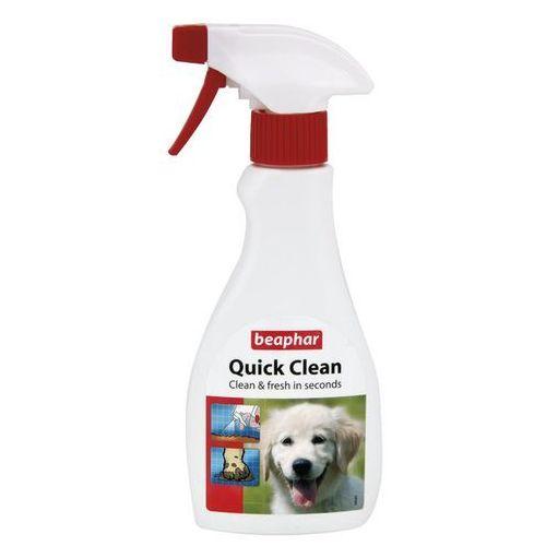 Quick clean 250 ml - sprej do czyszczenia i usuwania brudu z sierści psa marki Beaphar