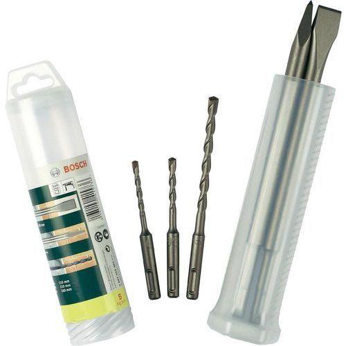 Bosch accessories Zestaw wierteł udarowych promoline 2607019455, stal hartowana, sds-plus, 1 zest. (3165140415736)