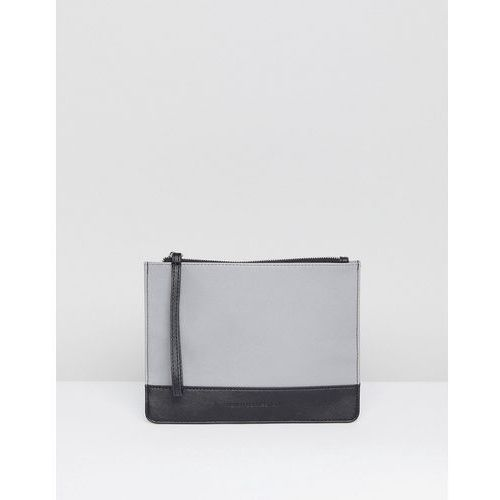 grey clutch bag - grey marki French connection
