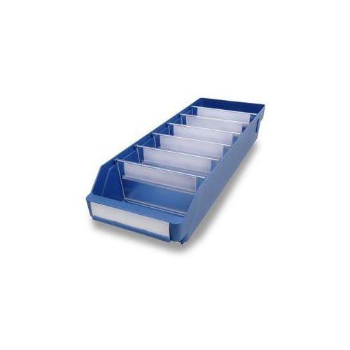 Stemo Skrzynka regałowa z wysokiej jakości, odpornego polipropylenu,niebieska