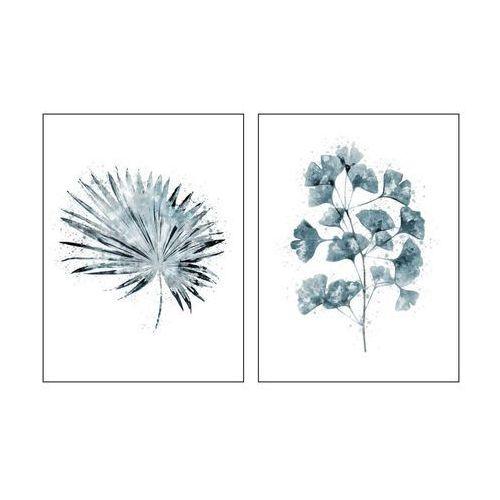 Art canvas Zestaw 2 plakatów koralowiec 30 x 40 cm (5901844231450)