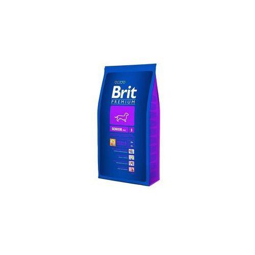 Brit Premium Senior S Sucha Karma Dla Małych Starszych Psów 1 kg, MO-4667