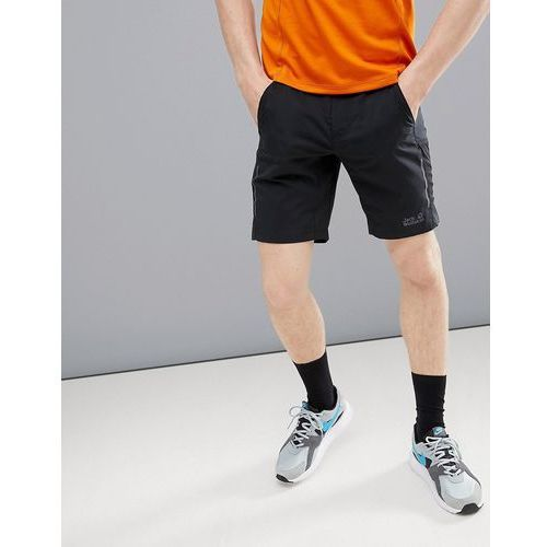 passion trail xt shorts in black - black, Jack wolfskin