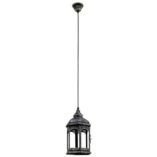 lampa wisząca VINTAGE - 17 cm antyczne srebro, EGLO 49225