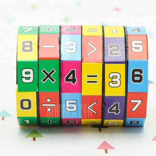 Gearbest 6-layer 7.2cm height puzzle cube children education learning math toy for children, kategoria: puzzle