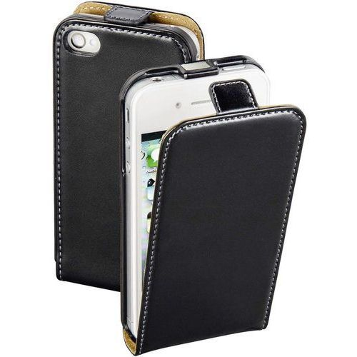 Etui flip do iPhone Hama 177491, Smart Case, Pasuje do modelu telefonu: Apple iPhone 4, Apple iPhone 4S, czarny (4047443315069)