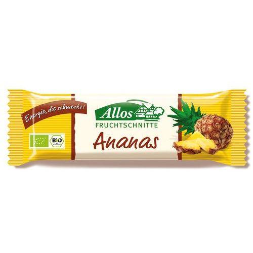 Allos : baton ananasowy bio - 40 g (4016249007133)