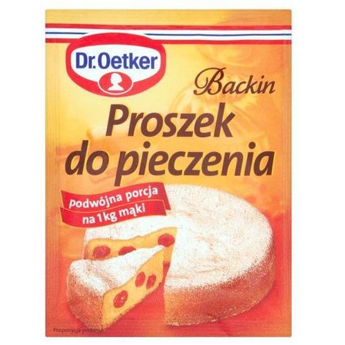 Dr. oetker backin proszek do pieczenia 30 g