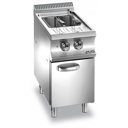 Mbm Urządzenie do gotowania makaronu i pierogów elektryczne z szafką  linia domina 700   26l   5500w   400x730x(h)850 mm