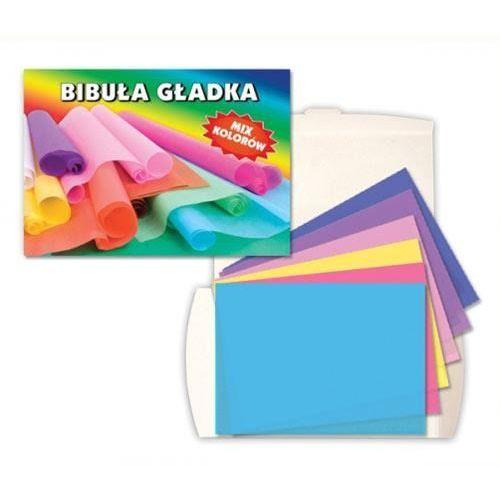 Gładka bibuła do rękodzieła 20 szt. - mix kolorów marki Creativehobby