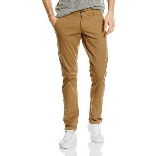 Spodnie męskie Selected Homme shht hree Paris ST Pants noos - w stylu chino 33W / 32L beżowy (camel), 16048118-Camel