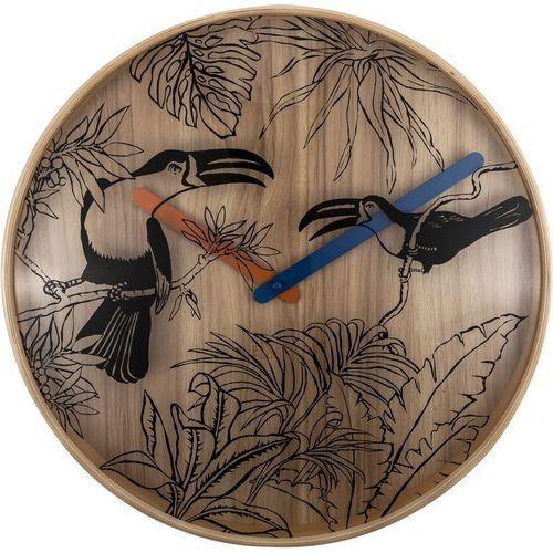NeXtime - Zegar ścienny Tropical Birds