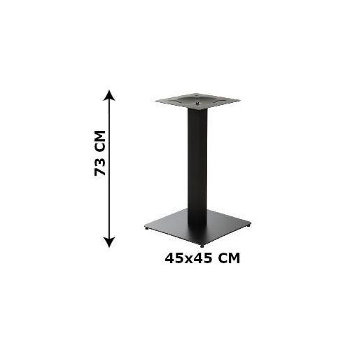 Stema - sh Podstawa stolika sh-5002-5/b, 45x45 cm (stelaż stolika), kolor czarny