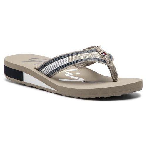 a16e9f521da13 Japonki - corporate flag beach sandal fw0fw03650 cobblestone 068, Tommy  hilfiger, 36-42