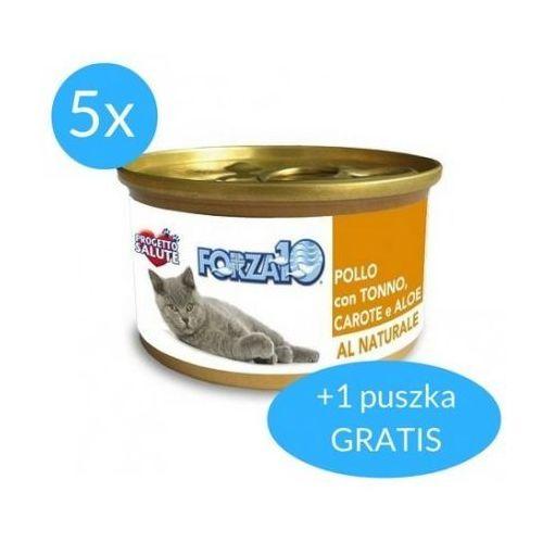 Forza10 maintenance dla kota 5x75g + 75g gratis (450g): smak - kurczak z tuńczykiem i marchwią dostawa 24h gratis od 99zł