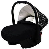 Knorr la Knorr-baby fotelik samochodowy voletto kropki czarny-biały (4250341307498)