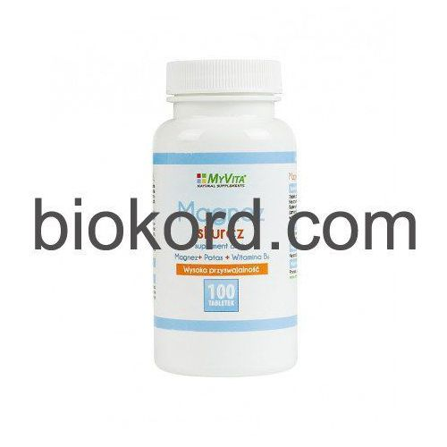 Tabletki Magnez Skurcz (Magnez+Potas+B6) Tabletki MyVita
