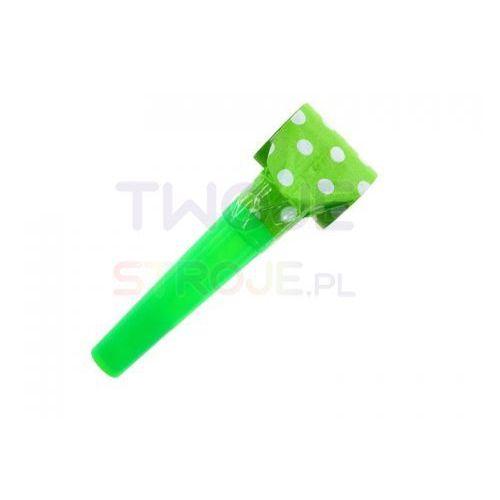 Twojestroje.pl Gwizdek w groszki zielony 1/144 (5901238697237)