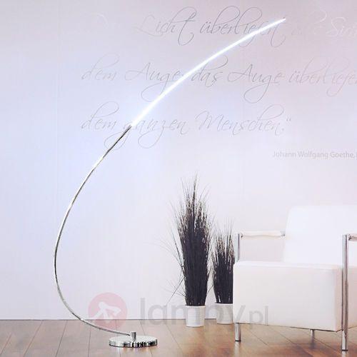 Leuchten-Direkt lampa stojąca LED Chrom, 1-punktowy - Nowoczesny/Design/Lokum dla młodych - Obszar wewnętrzny - Direkt - Czas dostawy: od 2-4 dni roboczych (4043689915056)