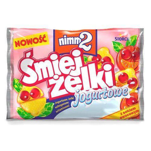 Żelki owocowe nimm2 Śmiejżelki jogurtowe wzbogacone witaminami 100 g (4014400913040)