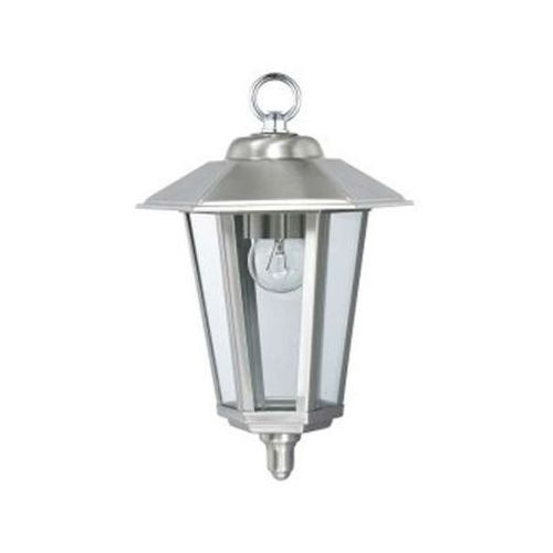 Ideus Klasyczna lampa wisząca hl242 01151 zewnętrzna oprawa zwis ip44 latarenka outdoor satyna (5901477311512)