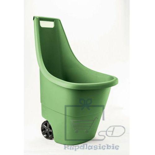 Taczka dwukołowa plastikowa easy go breeze 50l zielona marki Keter