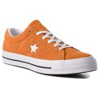 Tenisówki - one star ox 161574c bold mandarine/white/white marki Converse
