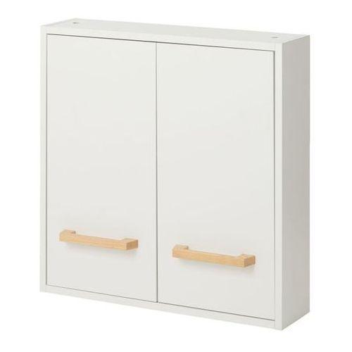 Szafka łazienkowa GoodHome Ladoga 60 x 60 x 15 cm biała (3663602527329)