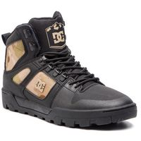 Sneakersy DC - Pure High-Top Wr Boot ADYB100006 Black/Camo(Blo)