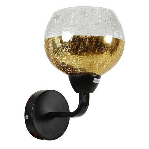 Lampa kinkiet Candellux Cromina Gold 1x60W E27 czarny 21-57242