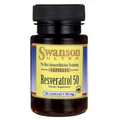 Swanson Resveratrol 50mg 30 kaps.