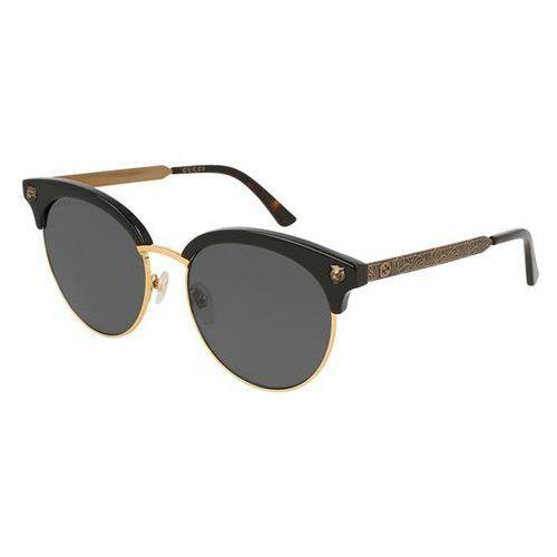 Okulary słoneczne gg 0222sk 001 marki Gucci