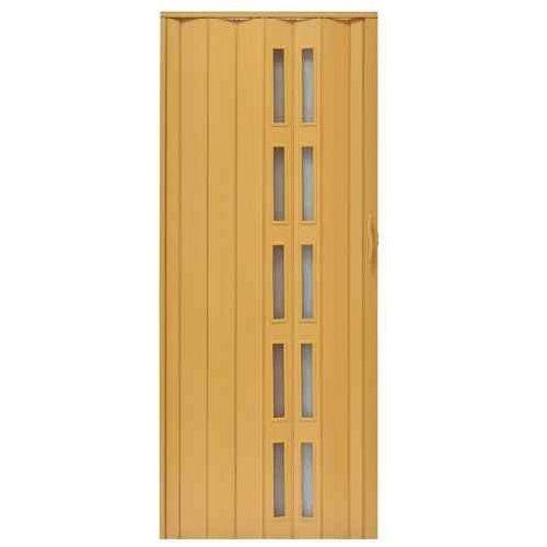 Drzwi Harmonijkowe 005S 271 Jasny Dąb Mat 90 cm, GK-0127