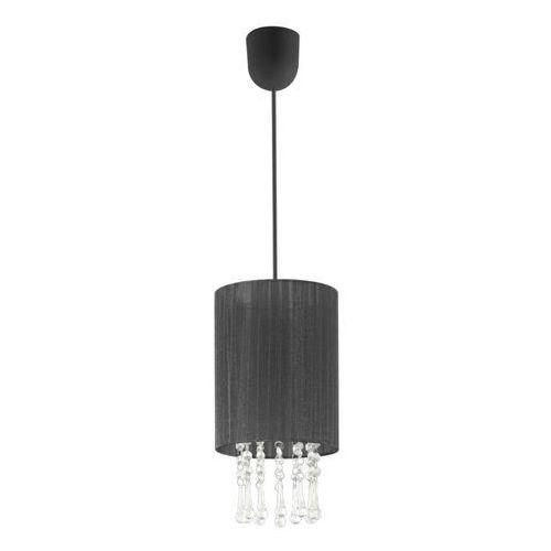 Lampa wisząca wenecja 1s czarna marki Lampex